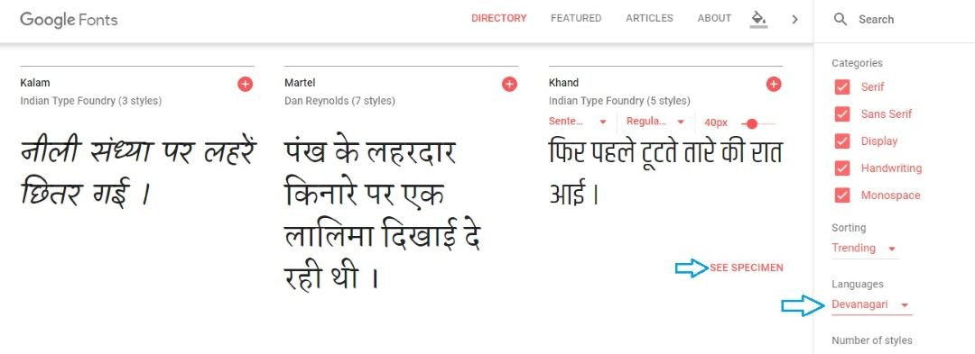 Hindi Font Free Download For Windows 10