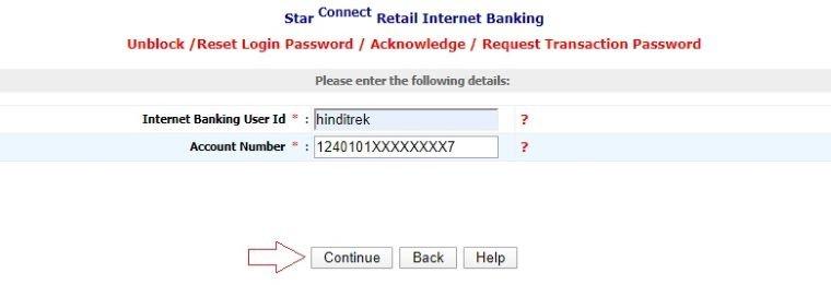 BOI internet banking login password