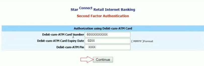 bank of india net banking login first time